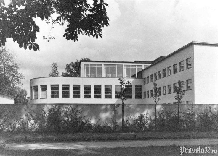 Вид на Анатомического института Кёнигсбергского университета с запада. Довоенное фото