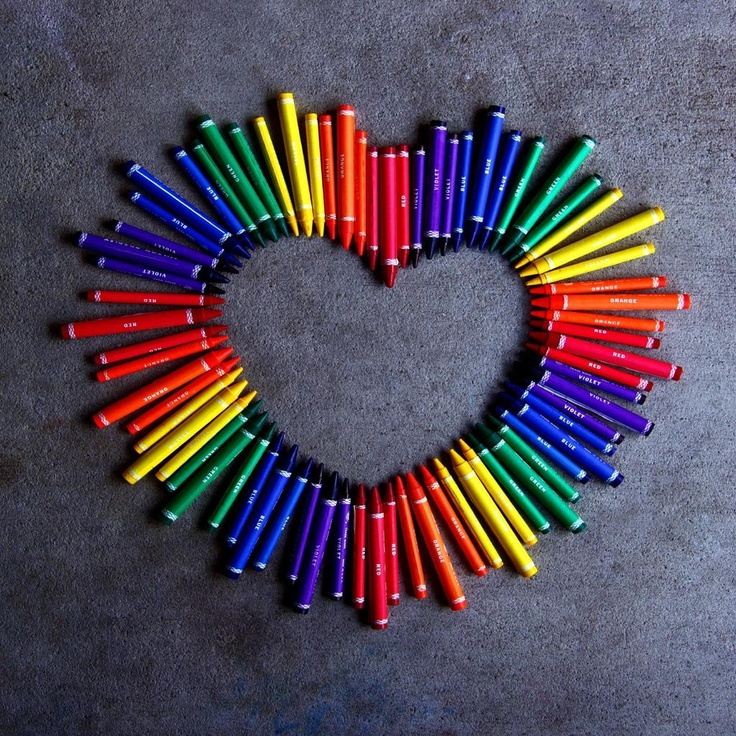 Crayons Mail: 17 Best Images About Colorful Things On Pinterest