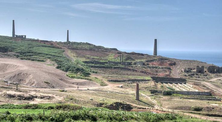 Part of Geevor Tin Mine, Pendeen, Cornwall