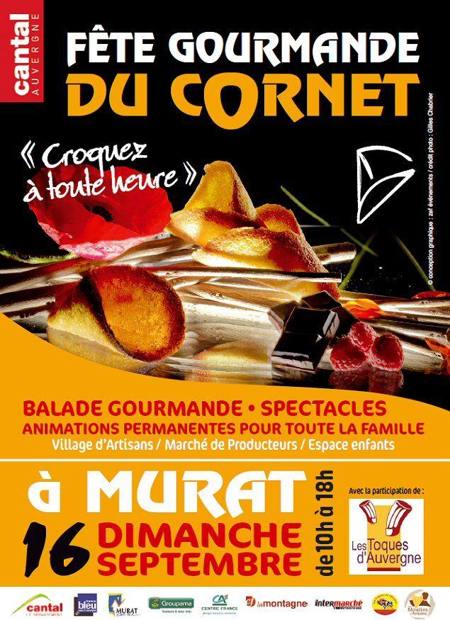 Fête du Cornet de Murat - Ville de Murat - Cantal Auvergne 15300