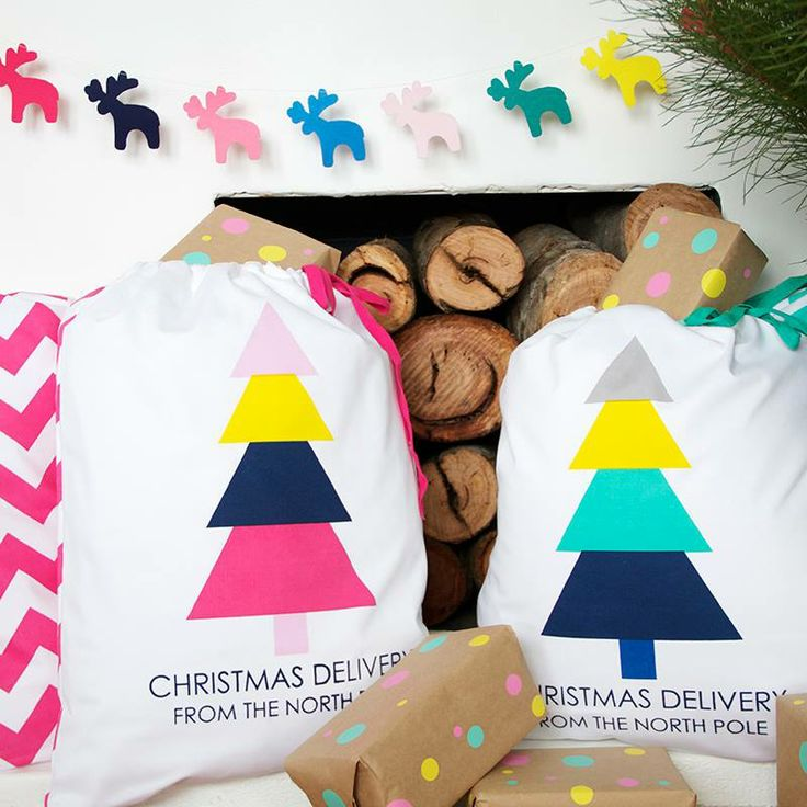 #limetreekids Chevron Sack Tree