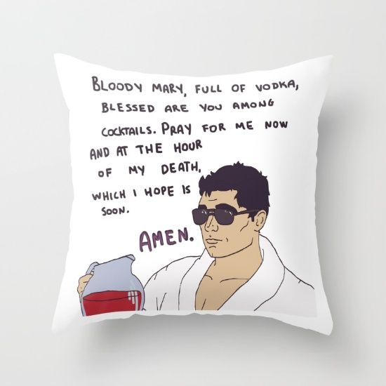 archer, tv show, funny, quotes, bloody mary, cartoon
