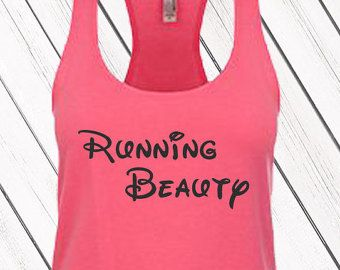 Disney Tank Top Run Disney Just Keep by VersionTwoApparel