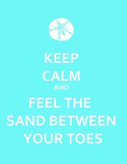 keep calm and feel the sand :) #BHCBeachDays