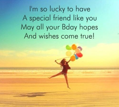 Happy Birthday Wishes To A Best Friend Funny Cute Wish For Friends Forever Amazing