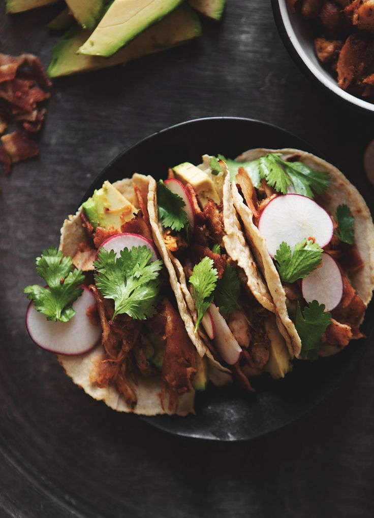 Ancho Chile Pulled Chicken Tacos in Homemade Corn Tortillas — a Better Happier St. Sebastian