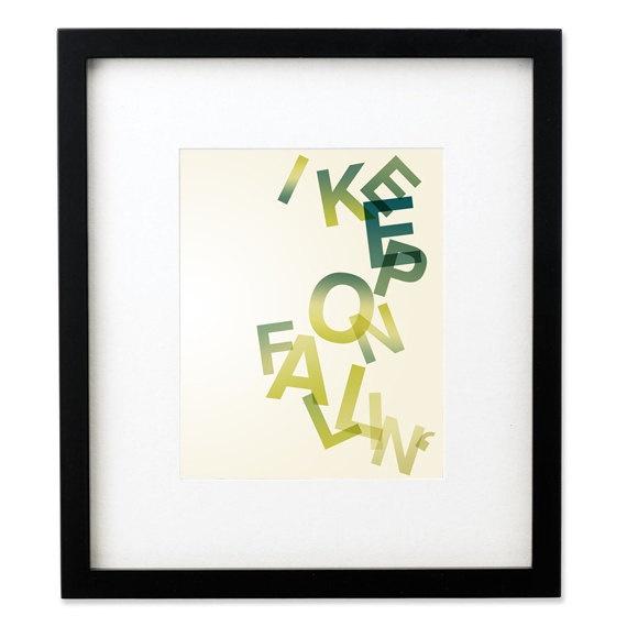 keep on fallin - alicia keys - from LyricalArtworks
