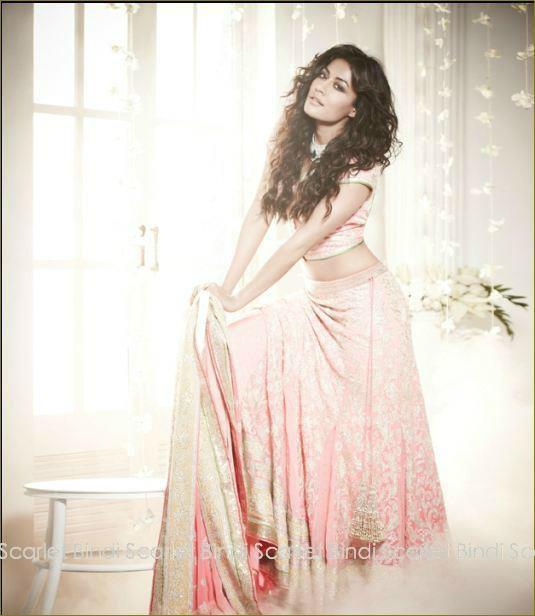Scarlet Bindi - South Asian Fashion: L'Officiel India Nov 2012: Chitrangada Singh