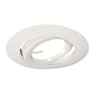 Galaxy Lighting 519 6-in Line Voltage Gimbal Ring Recessed Lighting Trim