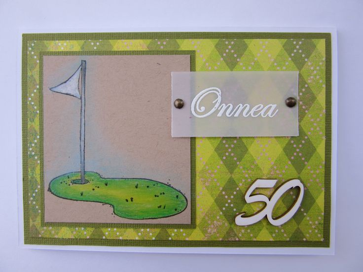 Golf flag, Magnolia stamps