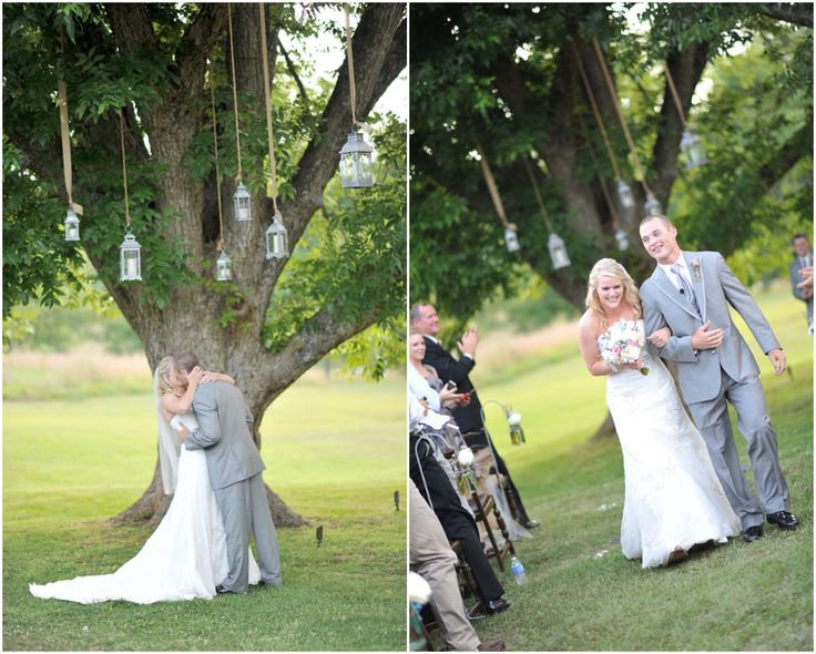 How To Hang Lanterns From Tree At Wedding