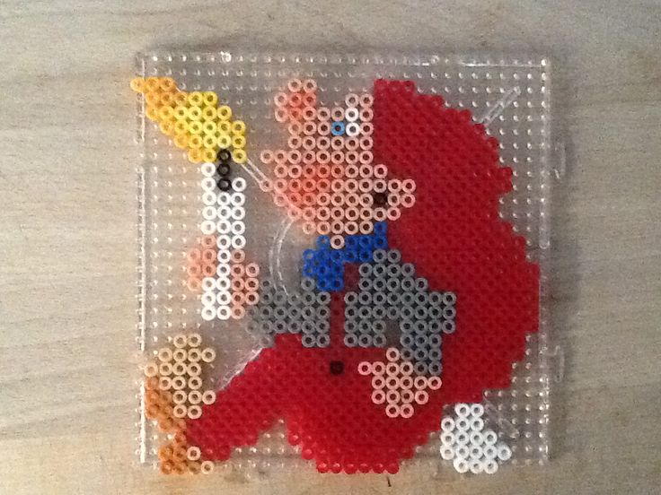 Nisse Christmas hama perler beads by Julie Loose