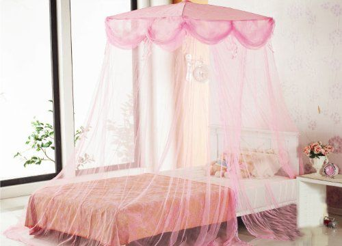 17 best ideas about princess beds on pinterest canopy for Pink princess bedroom