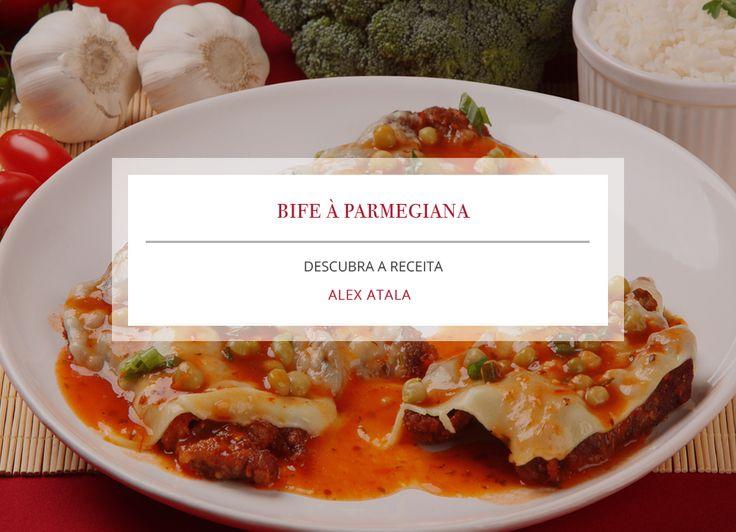 Receita: Bife à Parmegiana, por Alex Atala