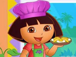 Dora games let's come cook with Dora