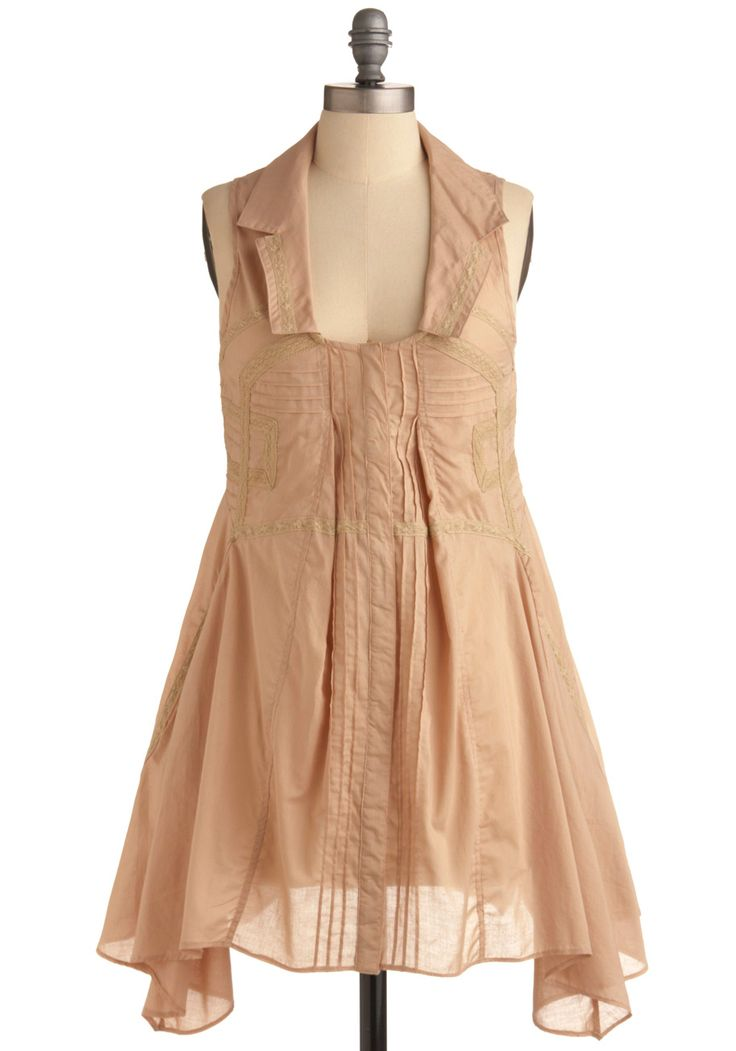 Only Dress in the World on Modcloth  $119.99...looks more like a shirt though but its still cute