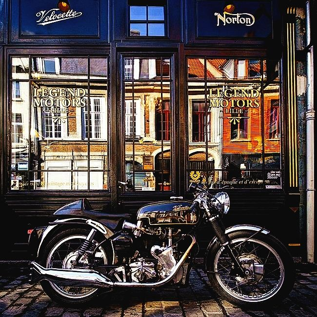 14 best velocette images on pinterest vintage motorcycles antique bicycles and vintage bikes. Black Bedroom Furniture Sets. Home Design Ideas