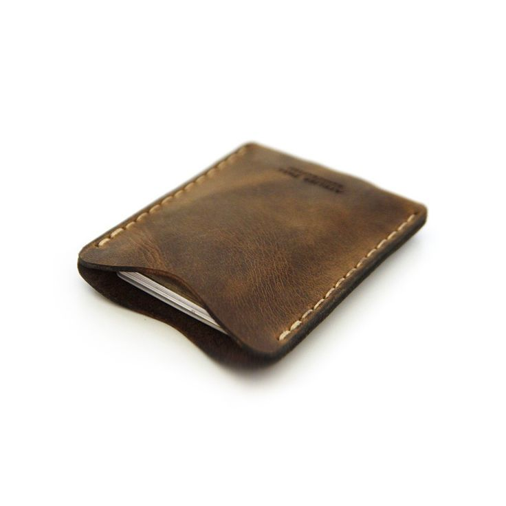 Card Wallet in Brown