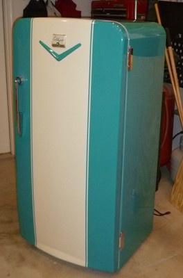 Marine Refrigeration Parts: 1950s Coldspot Refrigerator