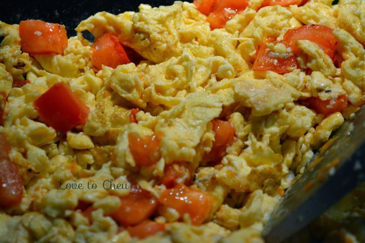Love to Cheu: Tomato and Egg Scramble