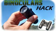 Modify old mini binoculars into two monoculars...an easy and simple modification to save you some money!
