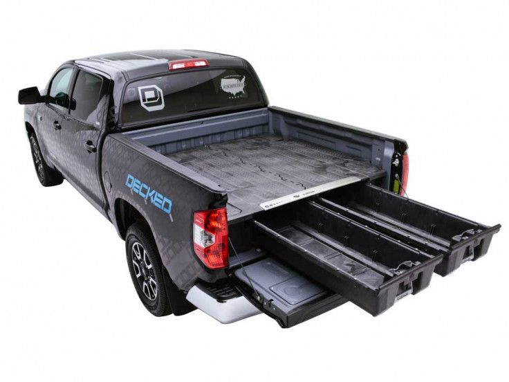 Decked Truck Bed Storage System Truck Bed Storage Truck Storage Truck Bed