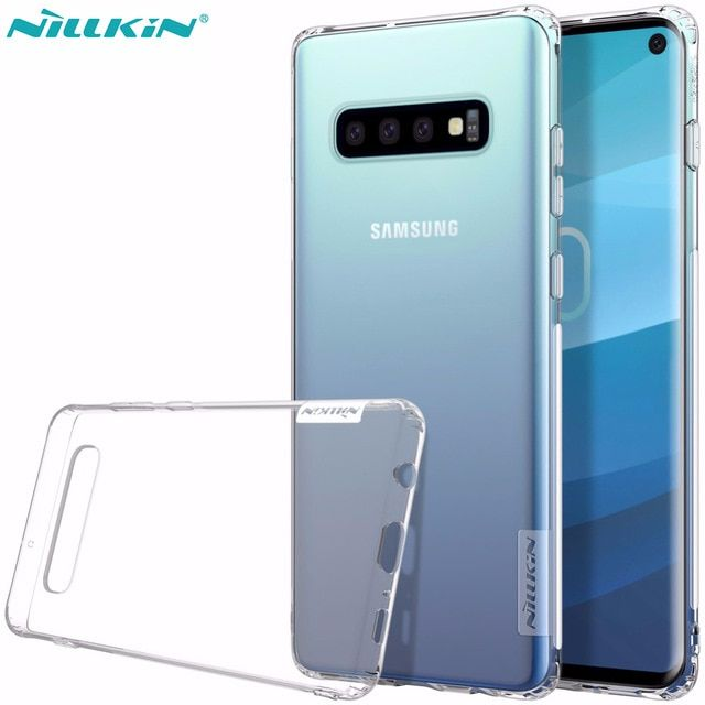 Case For Samsung Galaxy S10 Plus Nillkin Nature Soft Tpu Silicone Clear Transparent Back Cover Case For Samsung S10 S10e Lite Rev Samsung Samsung Galaxy Galaxy