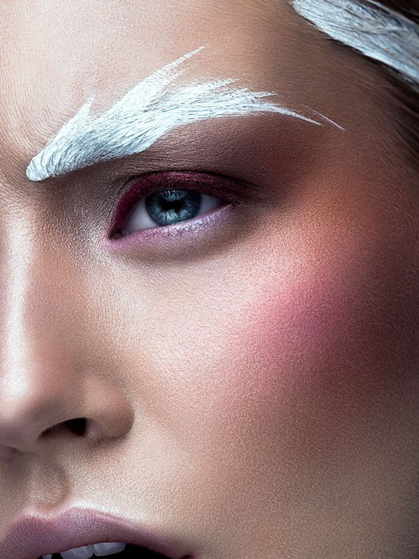 Légère comme une plume - Make-up