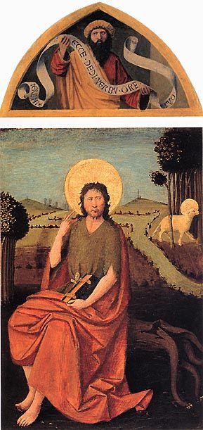 Enguerand Quarton, Retable d'Altenburg (ca. 1450, Staatliches Lindenau Museum, Altenburg; Musei Vaticani, Roma).