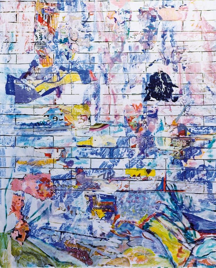 Claudio Spanti - Baker Street - Acrylique sur toile - cm 88x73 - 2011