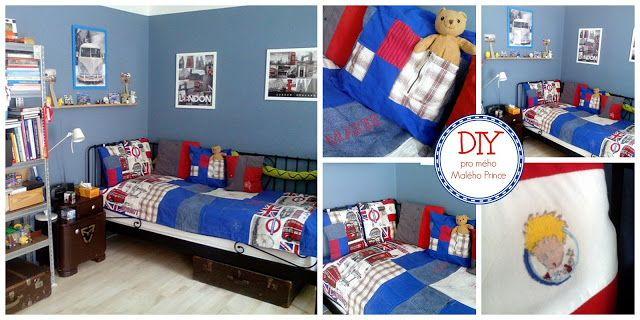 bedspread and pillows DIY