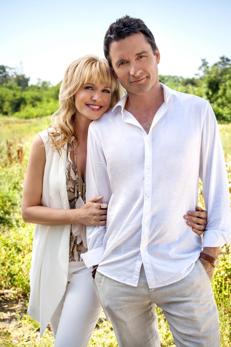 "Kathryn Morris & Alastair MacKenzie star in the Hallmark Channel Original Movie ""The Sweeter Side of Life"" premiering Jan 19th 9p/8C"