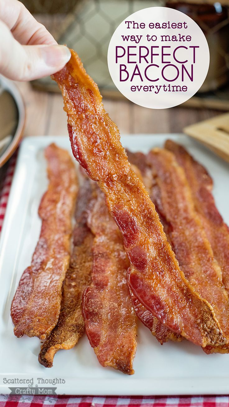 Making Dad breakfast for Father's Day this year? I've got the greatest trick to share for the easiest way on how to make PERFECT BACON every time!  #ad