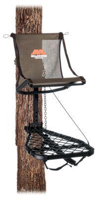 Millennium Treestands M100U Lock-On Lite Hang-On Treestand - Brown