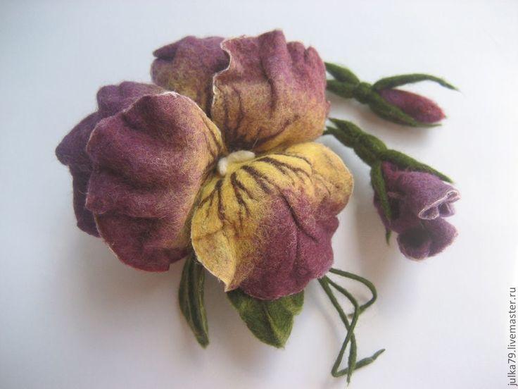 Шикарных, валяные цветы купить оптом