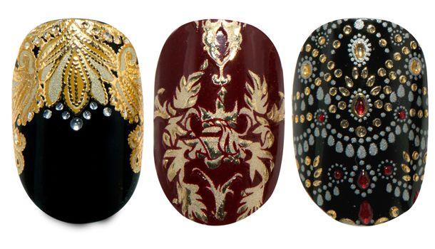 Marchesa's new nail art for Revlon
