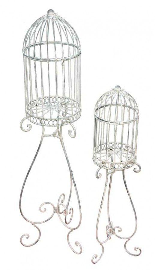 Decorator Birdcage set of two 21x21x100 cm  $60+ GST