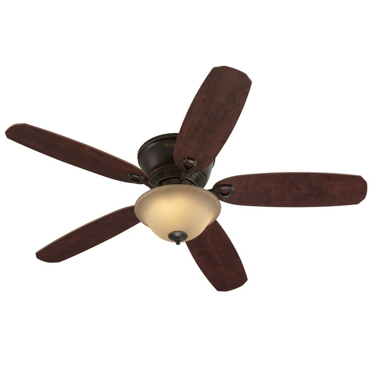 Hunter Allendale 52 Antique Brass Ceiling Fan At Menards: Antique Brass Ceiling Fan With Light