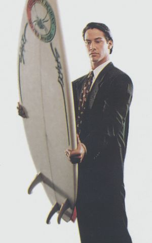 Keanu Reeves. I knew you'd appreciate this! #PointBreak