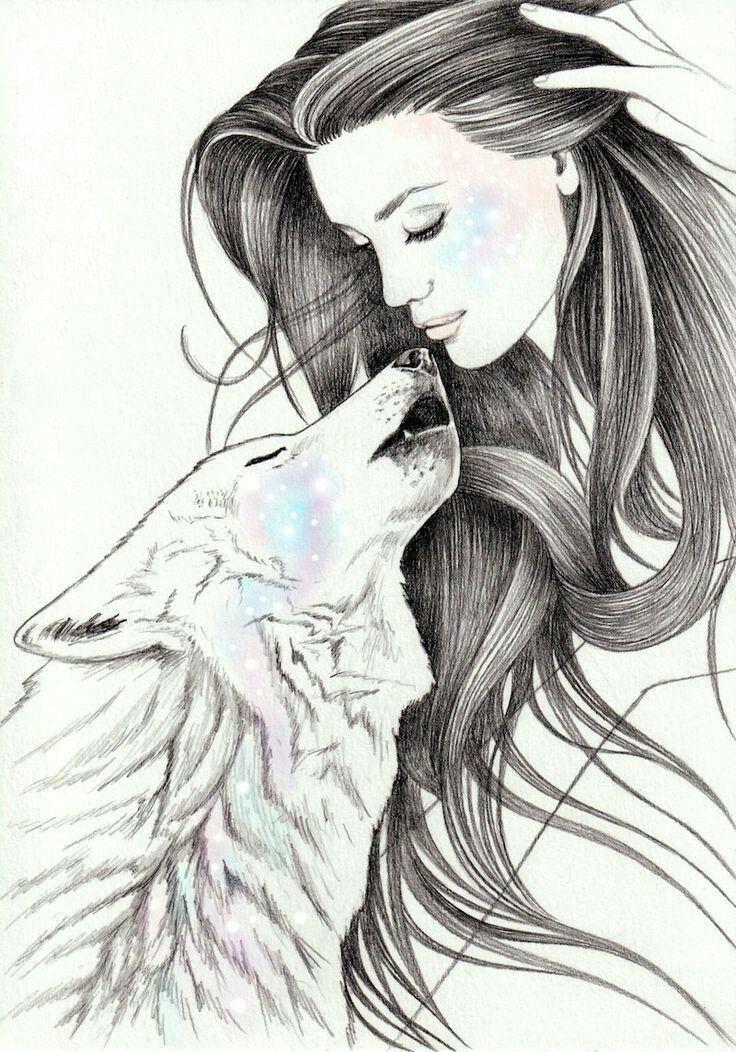 Pin De Juanita Quinones Reyes En Bellezas Arte De Lobos Dibujo