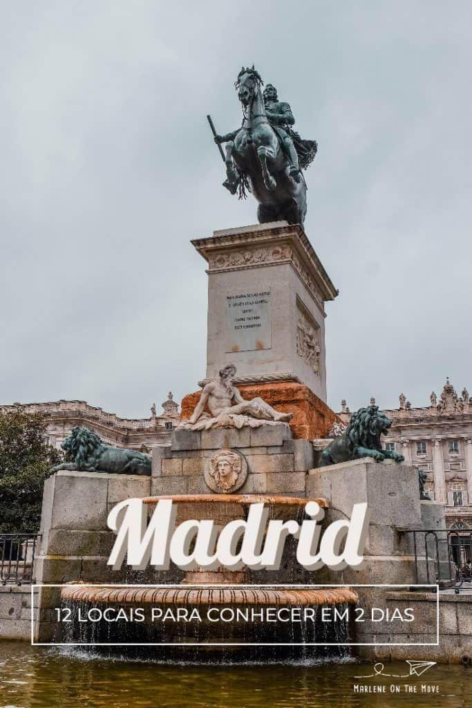 Vai Estar 2 Dias Em Madrid é A Sua Primeira Viagem à Capital Espanhola Saiba O Que Fazer Em Madrid E Quais Os Locais Que Te Em 2020 Viagens Espanholas Madrid Espanha