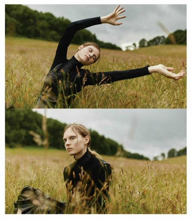 """Field of Dreams"" Steffi Soede for ELLE UK December 2015"