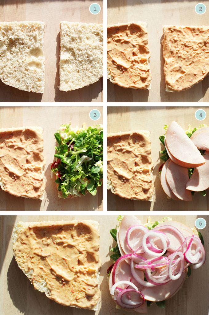 Panera Bread Sierra Turkey Sandwich How to