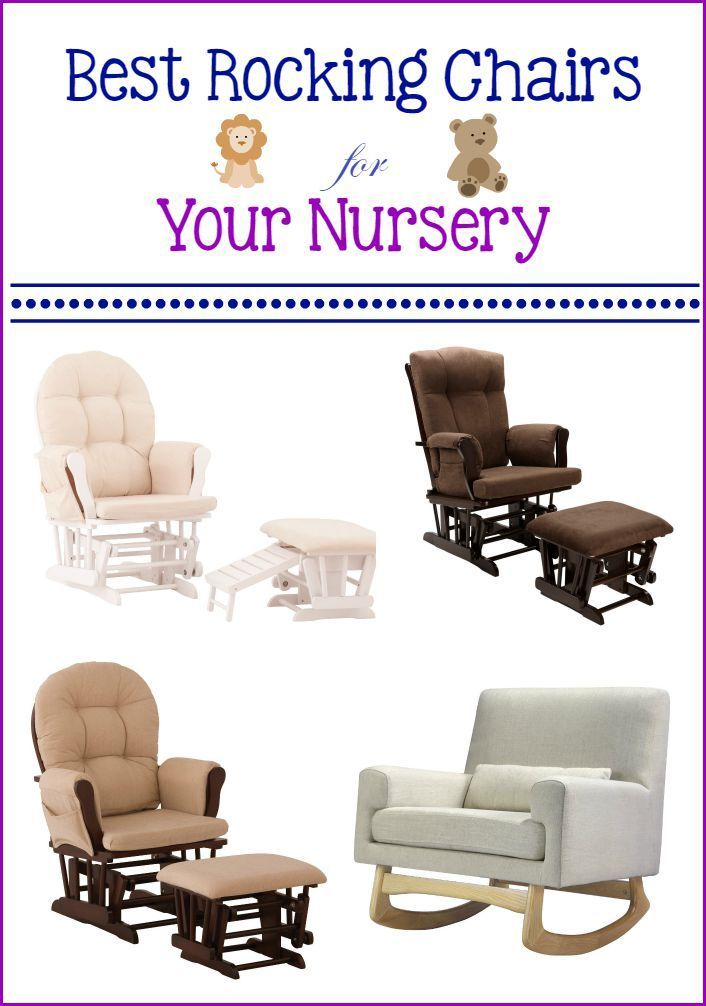 Best Rocking Chairs for the Nursery  Rocking chairs, The ojays and ...