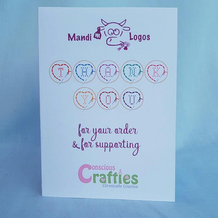 25+ parasta ideaa Pinterestissä Business thank you cards - business thank you card template