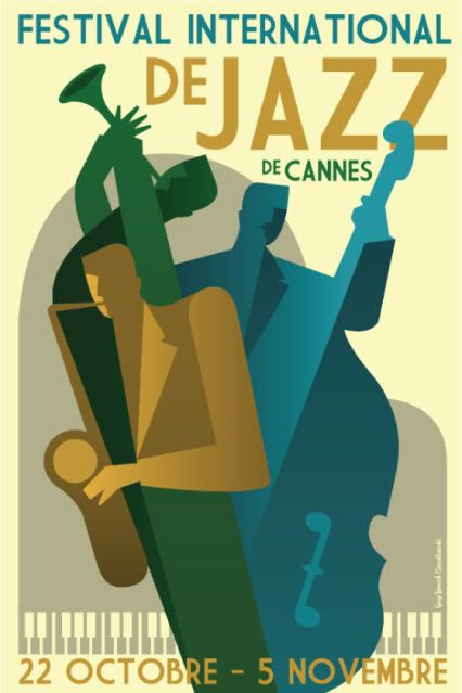 Well done retro Jazz Poster. I like it!