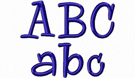$0.00  Free Sample - Maddie Machine Embroidery Font