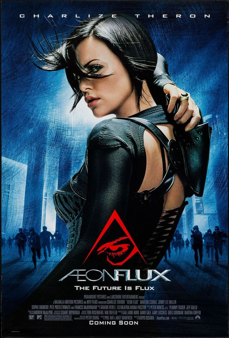 Aeon Flux - movie poster - Very Fine+ (8.5)
