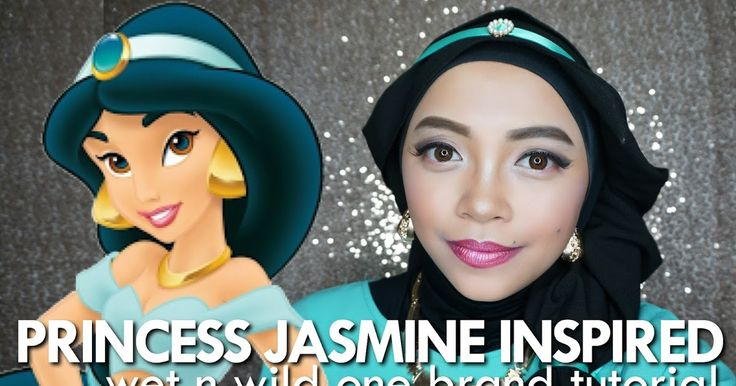 Glam Look - Princess Jasmine Inspired | Wet n Wild One Brand Tutorial