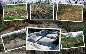 Záhony typu klíčová dírka  Permadesign | Design přírodních zahrad